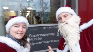 Besuch bei der Bezirksregierung Münster