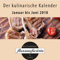 Der kulinarische Kalender des Steverbett Hotels